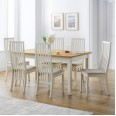 Dining Set Davenport Extending Dining Table and 6 Vermont Dining Chairs DAV105