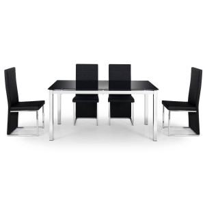 Dining Set - Tempo Dining Table and 4 Dining Chairs TEM901..