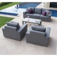 Zen 3 Seat Sofa Garden Furniture Set 3757 - Garden Lounge
