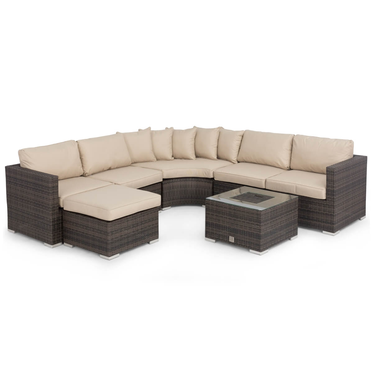 Alexandria Rattan Corner Sofa Reviews: Maze Rattan Barcelona Corner Sofa Set With Ice Bucket FLA