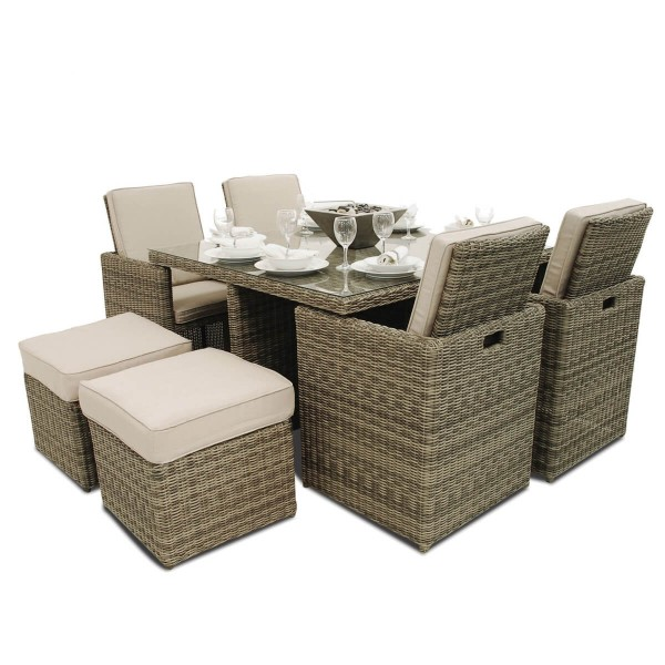 Maze Rattan Furniture Winchester 5-Piece Cube Set WIN-205014