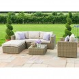 Maze Rattan Furniture Winchester Chaise Sofa Set WIN-203054