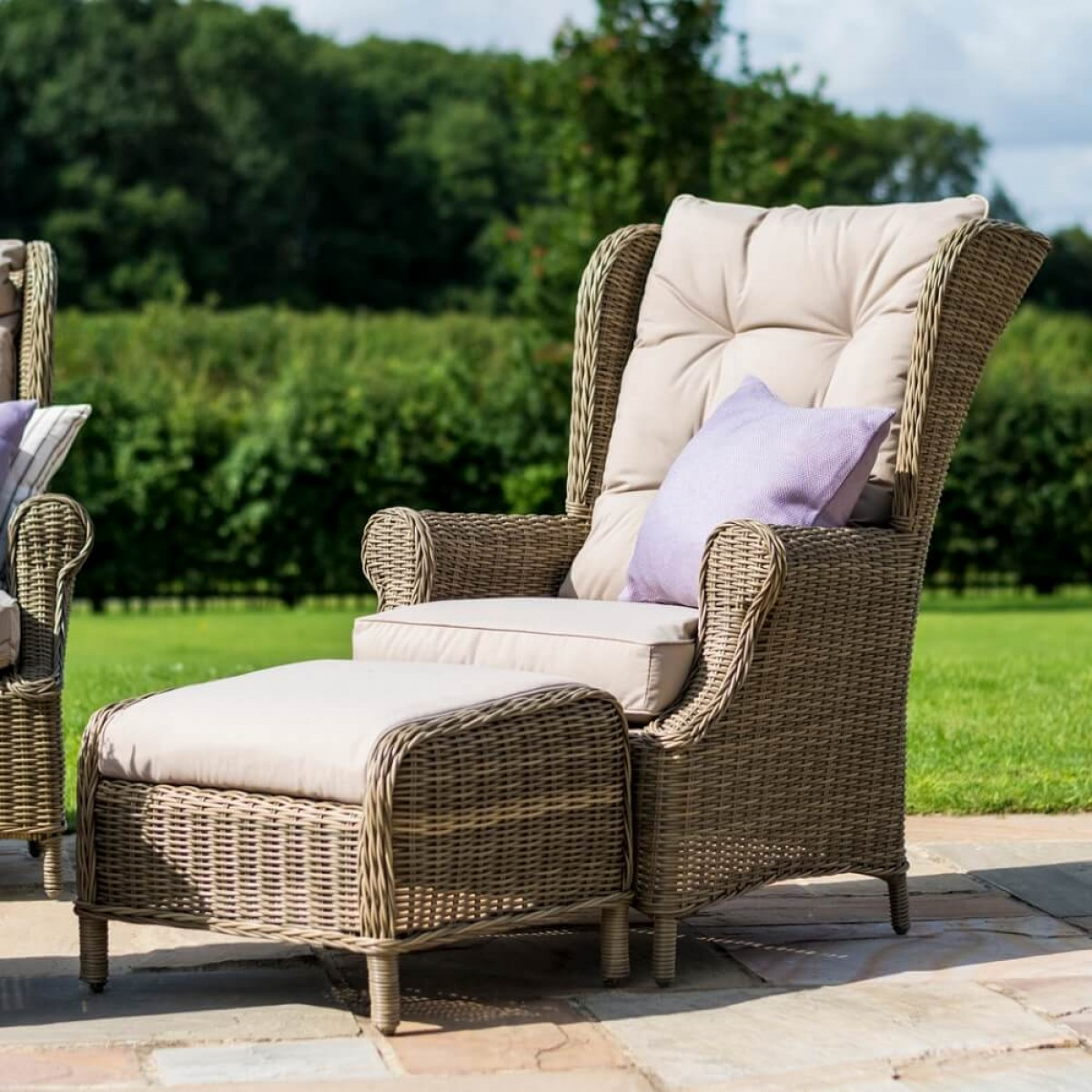 Maze Rattan Furniture Winchester High Back Sofa Set Win 202084