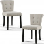 Dining Chairs - Pair of Shankar Sandringham Stonewash Natural Accent Chairs 085-18-02-01-01
