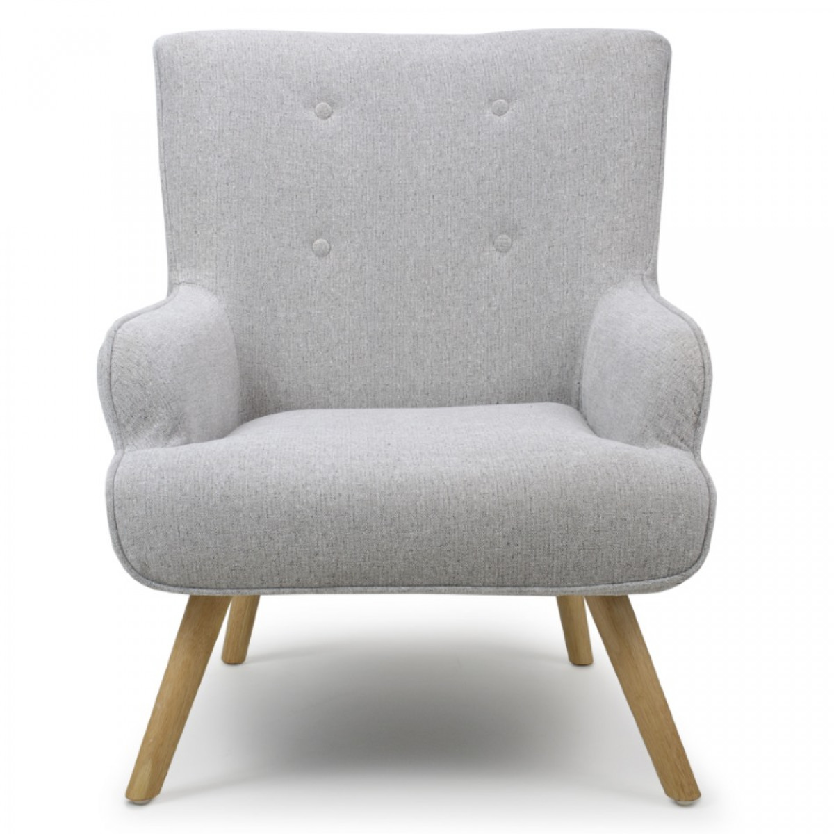 Armchairs - Shankar Cinema Armchair in Silver Grey 018-12 ...