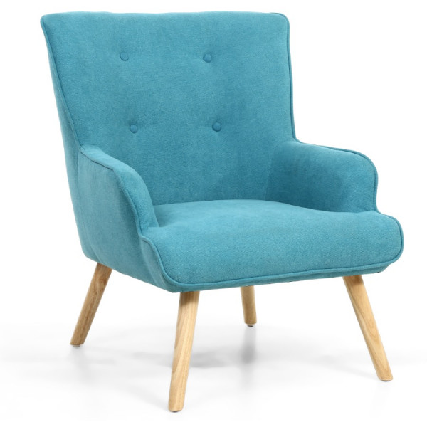 Armchairs - Shankar Cinema Armchair in Turquoise 018-45-64-05-01