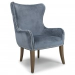 Accent Chairs - Shankar Mercer Armchair in Colonial Blue 078-29-29-16-01