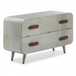 Chest of Drawers - Shankar Aviator 2 Drawer Chest AVI-2DCH