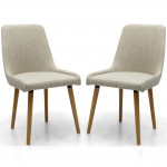 Dining Chair - Pair of Capri Natural Dining Chairs 004-33-02-05-01 by Shankar