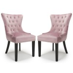 Accent Chair Pair of Pink Brushed Velvet Lionhead 113-09-62-CC by Shankar