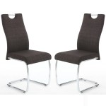 Dining Chair - Pair of Shankar Talia Charcoal Dining Chairs 069-10-26-10-01