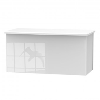White Blanket Box Camden CAM035WGW by Welcome Furniture