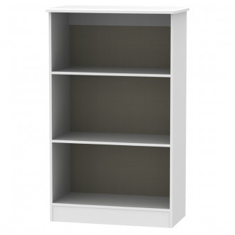 White Bookcase Camden CAM092WGW by Welcome Furniture
