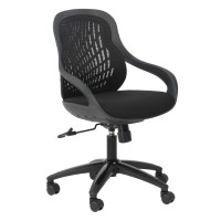Alphason Croft AOC1010-M-BLK Black Mesh Back Executive Chair