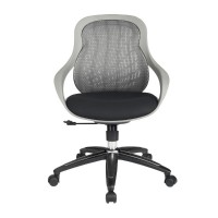 Alphason Croft AOC1010-M-GRY Grey Mesh Back Executive Chair