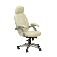 Alphason Bentley AOC6355-L High Back Leather Faced Executive Chair