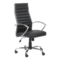 Alphason Hartford AOC3208-PU-BK Executive Chair