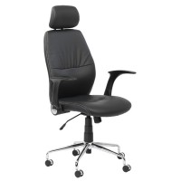 Alphason Parker AOC3223-PU-BK Managers Chair
