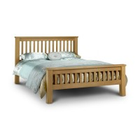 Marlborough Super King Oak Bed 180cm (6ft) by Julian Bowen HFE AMS003