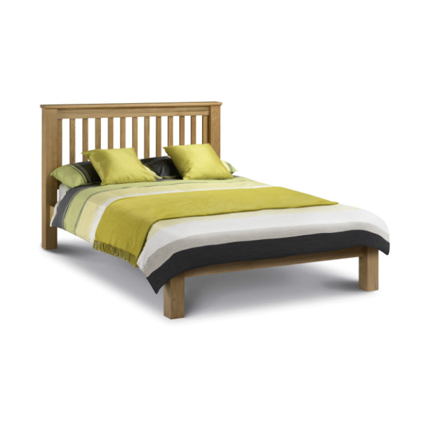 Oak King Size Bed Marlborough LFE AMS005 150cm (5ft) by Julian Bowen