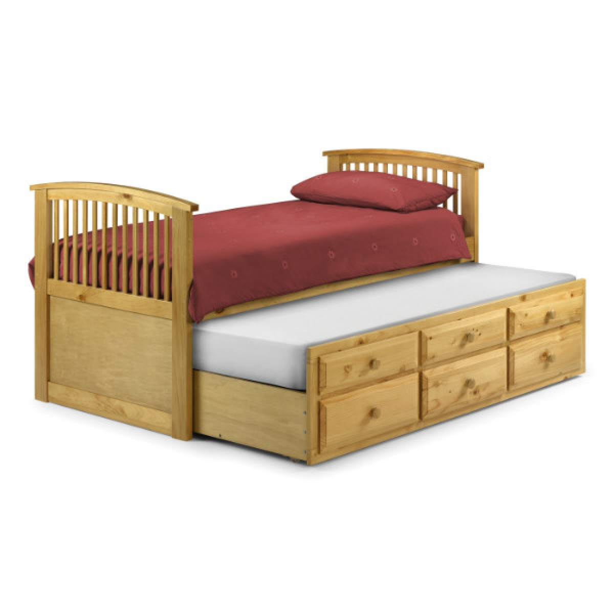 julian bowen hornblower cabin bed hor001 pine. Black Bedroom Furniture Sets. Home Design Ideas
