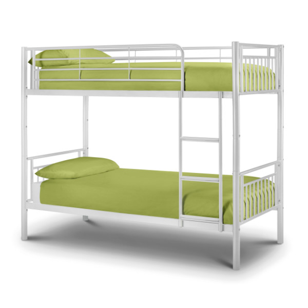 Julian Bowen Atlas Bunk Bed ATL004 White