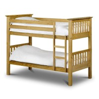 Julian Bowen Barcelona Bunk Bed Pine BAR008
