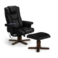 Julian Bowen Malmo Massage Swivel Recliner Chair MAL005 MAL006
