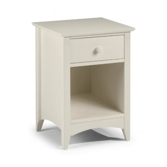 Julian Bowen Cameo 1 Drawer Bedside Chest CAM010