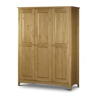 Julian Bowen Kendal 3 Door Wardrobe Fitted Interior KEN006