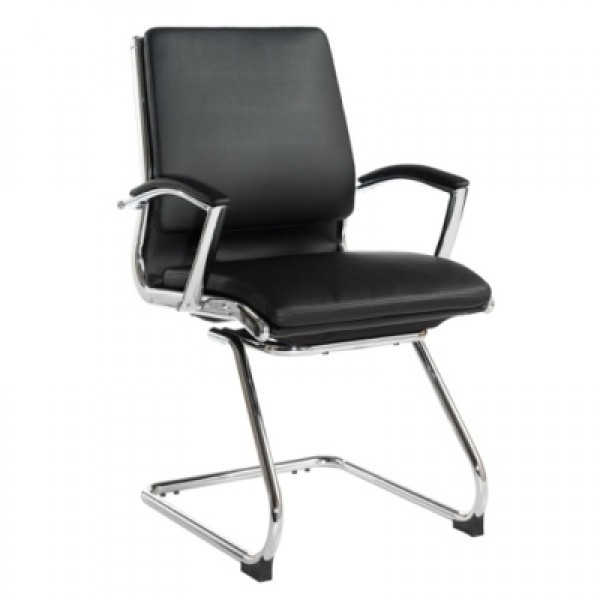 Dams Florence Leather Faced Executive Visitor Chair FLO100C1