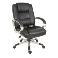 Office Chairs - Teknik Lumbar Massage Executive Chair 6905